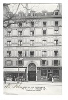 PARIS (V) Façade De L'hotel De Londres Rue Linné - Arrondissement: 05