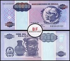 Angola | 100.000 Kwanzas | 1995 | P.139 | UNC - Angola