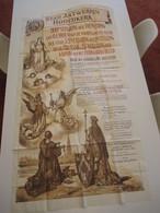 VP AFFICHE 95cm X 174cm (V1912) STAD ANTWERPEN HOOFDKERK 1924 (6 Vues) JOS RATINCKX 800 Verjaring Der Toewijding Aan OLV - Posters