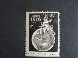 Vignette Victoire 1916 Paix - MNH Voir Scan - Military Heritage