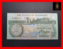 GUERNSEY 1 Pound  P. 52  B UNC - Guernsey