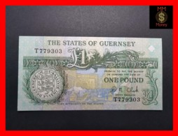GUERNSEY 1 Pound  P. 52 C UNC - Guernsey