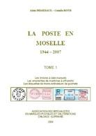 Catalogue Des Timbres à Date, EMA, MOGs De Moselle 1944 - 2007 - SPAL 2008 - Alsace Lorraine - - Cancellations