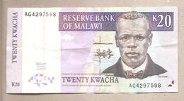 Malawi - Banconota Circolata Da 20 Kwacha P-38a - 1997 - Malawi