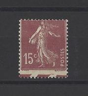 FRANCE.  YT  N° 189 (piquage à Cheval)  Neuf *  1924 - Curiosités: 1921-30 Neufs