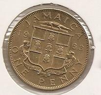 JAMAIQUE/JAMAICA 1 PENNY 1963 UNC??? TRES DIFICILLE/HARD MTG 720 000 - Jamaique