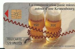 Telecarte Publicite Kronenbourg - Advertising