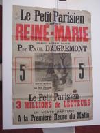 VP AFFICHE 84cm X 122cm (V1912) LE PETIT PARISIEN (6 Vues) Reine-Marie De Paul D'aigremont - Posters