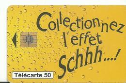 Telecarte Publicite  Schhh - Advertising