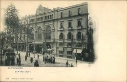 Cp Barcelona Katalonien, Teatro Liceo, Blick Auf Das Opernhaus - Espagne
