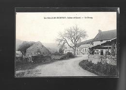 C.P.A. DU BOURG DE LA SELLE.EN.MORVAN 71. - France