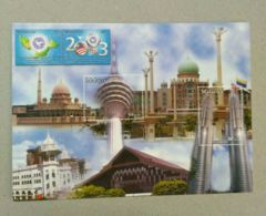 Malaysia 2003  13th Conference Of Heads State Government Of Non Aligned Movement Post Card Postcard - Malaysia