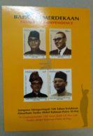 Malaysia 2003  Tunku Abdul Rahman Father Of Indepedence Post Card Postcard - Malaysia