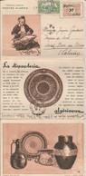 Lettre 3 Volets -Postes Algérie - La Dinanderie Algérienne - Algérie (1924-1962)