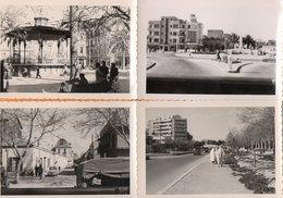 SIDI-BEL-ABBES - ALGERIE - Le Monument Aux Morts Et Le Cinema VOX - Le Kiosque - Le Parc BRM - PHOTOS ORIGINALES  - 1962 - Lieux