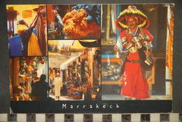 CP, MAROC, MARRAKECH, LES SOUKS DE MARRAKECH - Marrakech