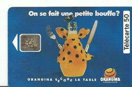 Telecarte Publicite  Orangina - Advertising