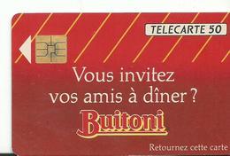 Telecarte Publicite Buitoni - Advertising