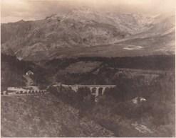 Le Pont De DURGAL 1912 Entre Grenade Et Lanjaron Photo Amateur Format Environ 3,5 Cm X 4,5 Cm - Lugares