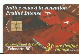 Telecarte Publicite Praline - Advertising