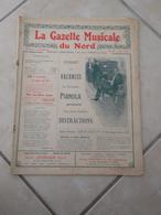 La Gazette Musical Du Nord -(Pizzicati, Pour Un Baiser & Sur Le Rhône) - Partition (Piano) Juillet 1923 - Instruments à Clavier