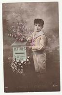 Groeten Uit Oostmalle 1916 - Jongetje Brievenbus Bloemen Lettres La 2e Levée Est Faite - Enfant Boite Aux Lettres Fleurs - Malle