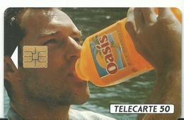Telecarte Publicite Oasis - Advertising