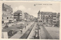 Coxyde , Koksijde: Avenue De La Mer , (  Albert  , N° 39 ) ( Auto : VW Coccinelle ,renault , ........ - Koksijde
