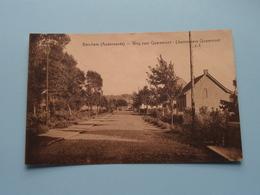 BERCHEM ( Audenaerde ) Weg Naar QUAREMONT Chemin Vers ( Wante ) Anno 1934 ( Zie Foto ) ! - Oudenaarde