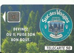 Telecarte Publicite Suc Des Vosges - Advertising
