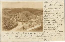 SAINT MARIEN CHAMBON (23) Carte Photo Confluent Du Cher Et De La Tardes - Autres Communes