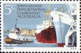 USED STAMPS Australia - International Ports And Harbors Conferen -1969 - 1966-79 Elizabeth II