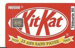Telecarte Publicite Kit Kat - Advertising