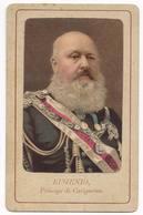 Foto Di Eugenio Di Savoia-Villafranca Principe Di Carignano - Célébrités