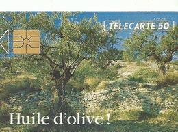 Telecarte Publicite   Huile D'olive - Advertising