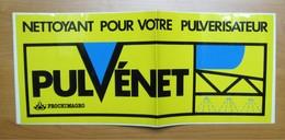 Autocollant Sticker 34 X 14 Cm Publicité Pulvénet Nettoyant Pour Pulvérisateur (agricole) Prochimagro 21ADH19 - Stickers