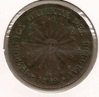 URUGUAI 1 CENTESIMO 1869 - Uruguay
