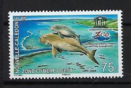 "Nle-Caledonie YT 1088 "" Dugong "" 2009 Neuf** - New Caledonia"