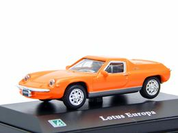 Hongwell Lotus Europa Oranje 1:76 - Cars & 4-wheels