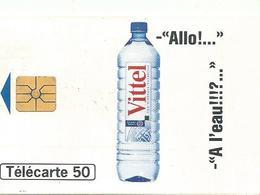 Telecarte Publicite Vittel - Advertising