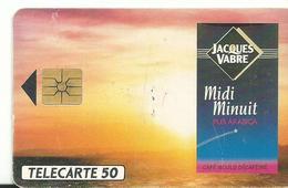 Telecarte Publicite  Jacque Vabre - Advertising