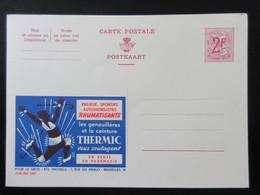 ENTIER CP PUBLIBEL 1886. THERMIC. GENOUILLERES ET CEINTURE .. BRUXELLES  . NEUF - Publibels