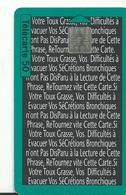Telecarte Publicite Laboratoire Obertin - Advertising