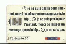 Telecarte Publicite Chewing Gum  Stimorol - Advertising