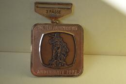 Rare Médaille 20 Srb Alpenbrevet Andermatt 1997 Diamètre 5.5 Cm - RFT