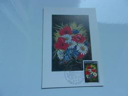 MONACO (1975) Concours De Bouquets - Cartoline Maximum