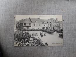 GUER Place De La Mairie  Obsèques D'un Lieutenant Colonel - Guer Coetquidan