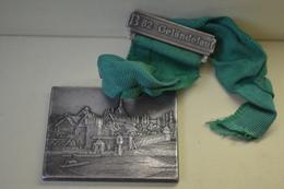 Rare Médaille B82 GELANDELAUF Format 5 X 4 Cm - RFT