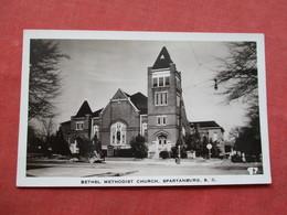 RPPC  Bethel Methodist Church     South Carolina > Spartanburg    Ref 3423 - Spartanburg