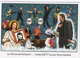 CPM - 2017. 6 Décembre. Johnny Rejoint Ses Amis Au Rock And Roll Paradis - (Johnny HALLYDAY) - Entertainers